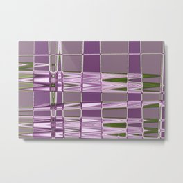 Lilac and Violet Metal Print