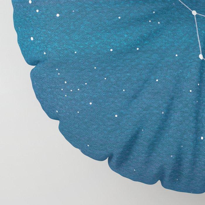 Big Dipper constellation Floor Pillow