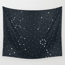 Zodiac Sign Pattern Wall Tapestry