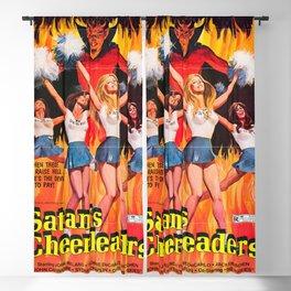 Satan's Cheeleaders 1977 Vintage Movie Poster Blackout Curtain