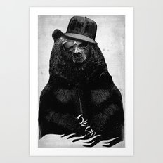 BlackB Art Print