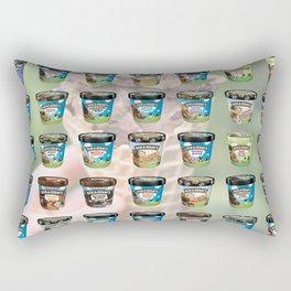 Ben & Jerry's Ice Cream Flavors Rectangular Pillow