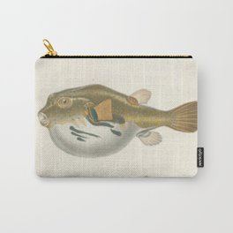Naturalist Pufferfish Carry-All Pouch