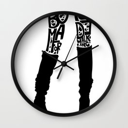Over You Wall Clock