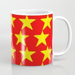 Gold Stars Rising Coffee Mug