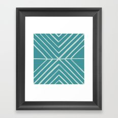 Intersect - in Pool Framed Art Print