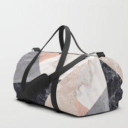 Marble geometry Duffle Bag