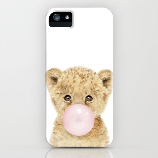 Bubble Gum Lion Cub by amypetersonartstudio