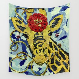 Ezmerelda The Giraffe Wall Tapestry