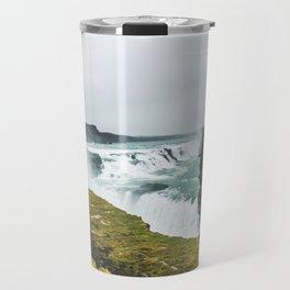 Gigantic Gullfoss Travel Mug