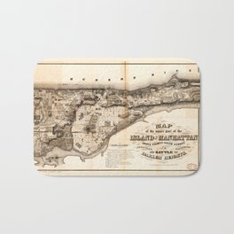 Battle of Harlem Heights (1776) Bath Mat