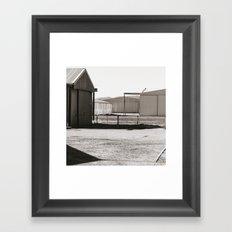 Shapes an Shadows Framed Art Print