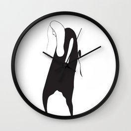 age defines nothing Wall Clock