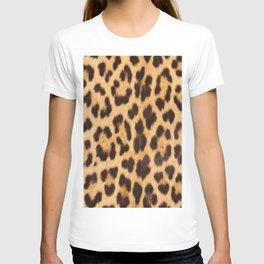 primitive trendy stylish fashionable safari animal leopard T-shirt