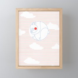 Panda Framed Mini Art Print