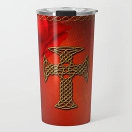 Wonderful celtic cross Travel Mug