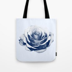 HALFTONE ROSE Tote Bag