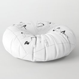 would you rather Floor Pillow