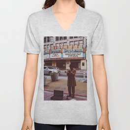 Los Angeles Jazz II Unisex V-Neck
