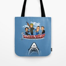 Fish Punch Tote Bag