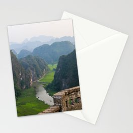Stunning view in Vietnam | Rice fields of Tam Coc | Travel photography | Fine Art | Photo Print |  Stationery Cards