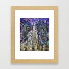 Jungle Woman Framed Art Print