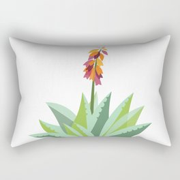 South African Aloe Vera flower Rectangular Pillow