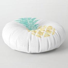 Gold Pineapple Floor Pillow