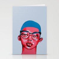 austin Stationery Cards featuring AUSTIN by Zelda Bomba