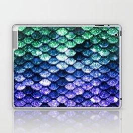 Green Purple Mermaid Tail Laptop & iPad Skin