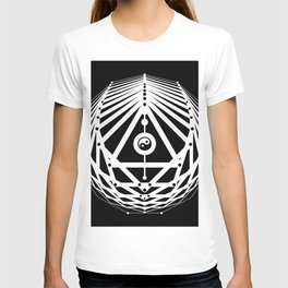 Radiant Abundance (black-white) T-shirt