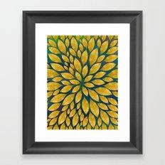 Petal Burst #18 Framed Art Print