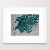 sound Framed Art Prints featuring Sound by LisaMMurphyArt