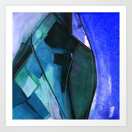 Abstraction 317I by Kathy Morton Stanion Art Print