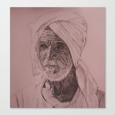 Egyptian Old Man Canvas Print
