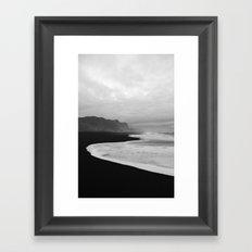 Black Sand Beach of Vik Iceland Framed Art Print