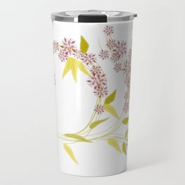 Red Gold Travel Mug