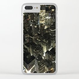 NYCNIGHTS Clear iPhone Case