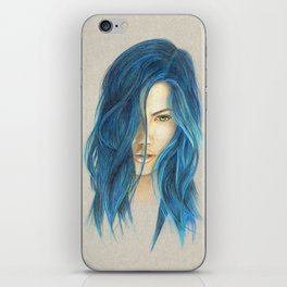 """Blue"" iPhone Skin"