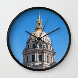 Hotel des Invalides - Paris Wall Clock