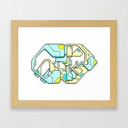 Caffiend Framed Art Print