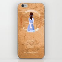 belle iPhone & iPod Skins featuring Belle by Camilla Kipp