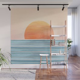 Morning in Paradise ~ Tropical Sunrise Wall Mural