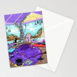 Witch's Room Stationery Cards