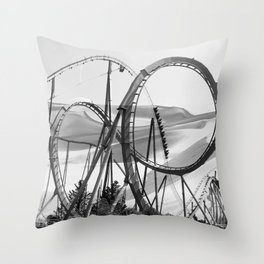 Arid Oasis Throw Pillow