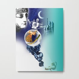 1001 Nights II Metal Print