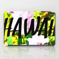 hawaii iPad Cases featuring Hawaii by mattholleydesign