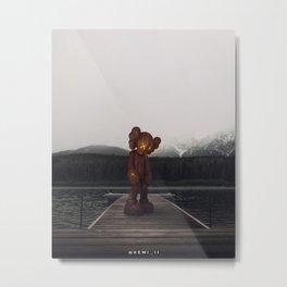 KAWS Metal Print