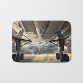 Concorde gear down and locked Bath Mat