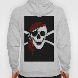 Creepy Pirate Skull and Crossbones Hoody
